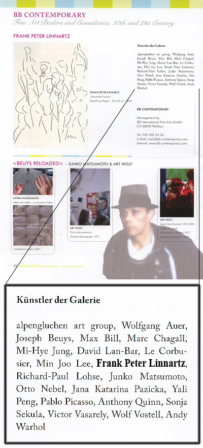 Messekatalog der ART & STYLE  St.Gallen / April 2008