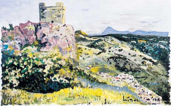 Nasriden-Festung bei Cordoba