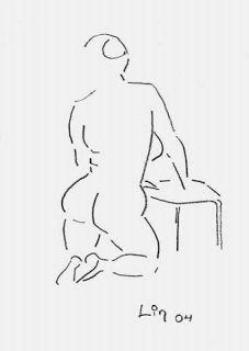 Rückenakt
