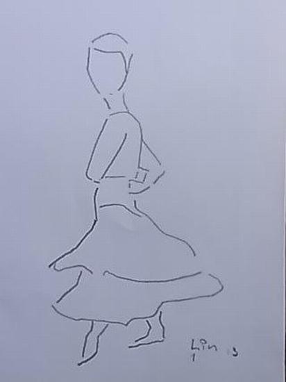 Flamenco Tänzerin 1 (Serie 2013)