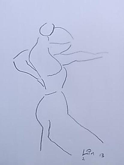 Flamenco Tänzerin 2 (Serie 2013)