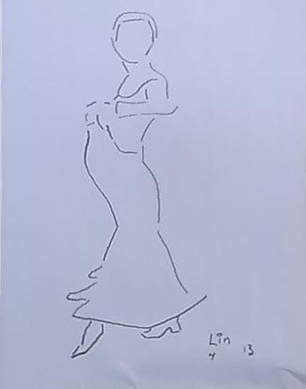 Flamenco Tänzerin 4 (Serie 2013)