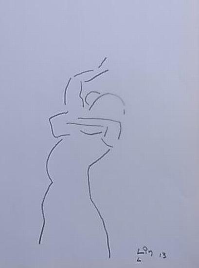 Flamenco Tänzerin 6 (Serie 2013)