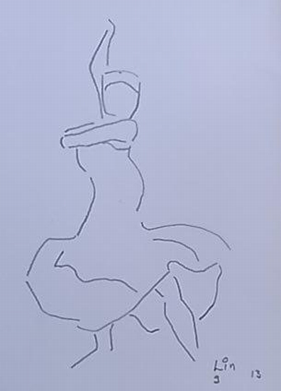 Flamenco Tänzerin 9 (Serie 2013)