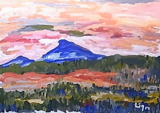 Der blaue Berg