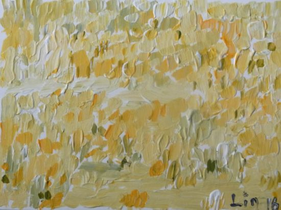 Traum 1 / Gelbe Wiese